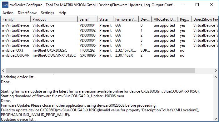 MATRIX VISION - mvBlueFOX3 Technical Documentation: Quickstart